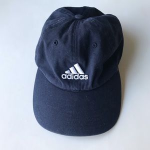 ADIDAS navy and white ball cap hat